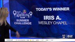 Sarah's Walking Club Summer Challenge Monday Winner