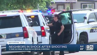 2 children shot at south Phoenix home; Police detain mother
