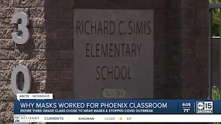 Why masks worked for Phoenix classroom in stopping COVID outbreak
