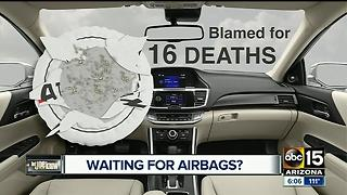 Trying to fix your car after the Takata airbag recall?