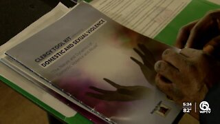 Domestic violence discussed from 'more pulpits'