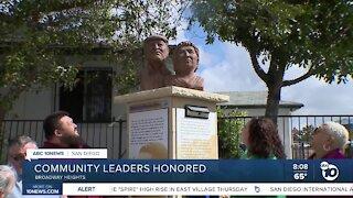 San Diego community leaders honored