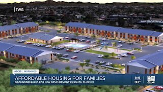 Groundbreaking for new affordable housing development in south Phoenix