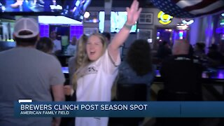 Fans react to Brewers securing playoff spot