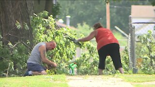 Major storm rips through Ripon leaving a mess in its wake