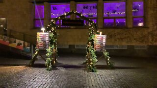 Christmas 🎄 Street Decorations In Aalborg part 2