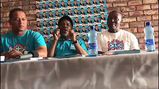 ACDP's Kenneth Meshoe on campaign trail in Nelson Mandela Bay (F6W)