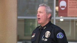 Longmont police hold press conference for deadly crash involving suspected stolen pickup