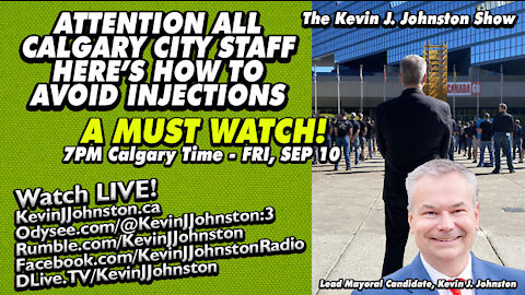 The Kevin J. Joonston Show How To Avoid The Jab