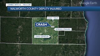 Walworth County sheriff's deputy injured during pursuit