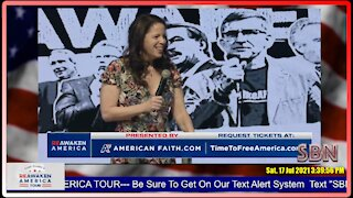 Dr. Simone Gold at the Reawaken America Tour in Anaheim CA 7-17-21 - 2488