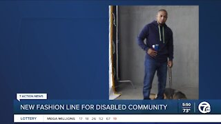 Detroit-area designer launches new fashion line with disabled community in mind