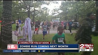 Zombie run coming next month