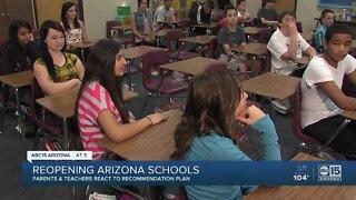 Reopening Arizona schools next school year