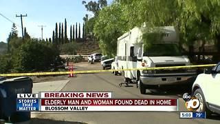 Elderly couple found dead in home