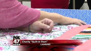 """Local Business Holds Charity """"Quilt-A-Thon"""""""