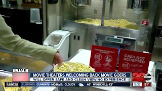 Movie Theaters welcoming back movie goers in Kern County