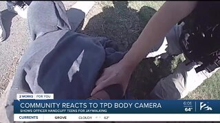 Tulsa's Black Community Reacts to TPD Body Cam Video