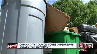 Omaha City Council votes on garbage collection contract