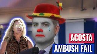 CNN'S JIM ACOSTA TRIES TO AMBUSH MTG - BACKFIRES IMMEDIATELY