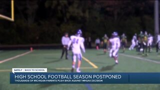2 petitions aim to have Michigan high school football played this fall