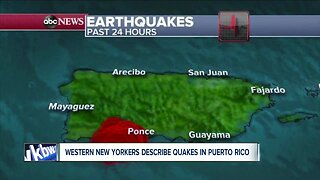 Western New Yorkers describe quakes from Puerto Rico