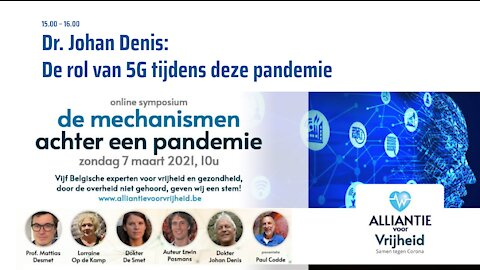 6. Johan Denis - Symposium Artsen Voor Vrijheid 7-3-2021. DEEL I