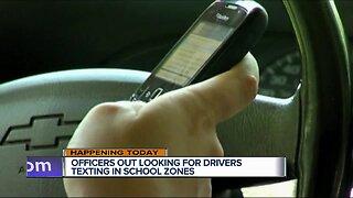 Boynton Beach police enforce school zone cellphone ban