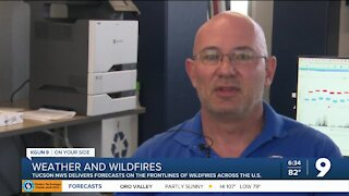 Tucson National Weather Service meteorologists help in fight against wildfires