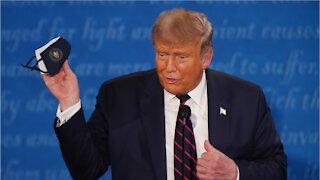 Trump COVID Diagnosis Send Down Plumetting