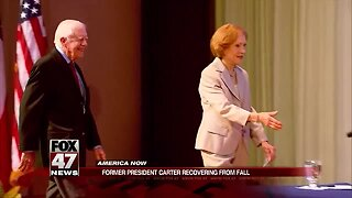 Jimmy Carter has successful surgery after breaking his hip