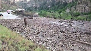Both directions of I-70 reopen after second mudslide shuts down highway through Glenwood Canyon
