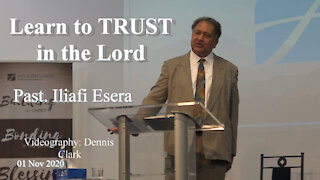 Learn to Trust in the Lord