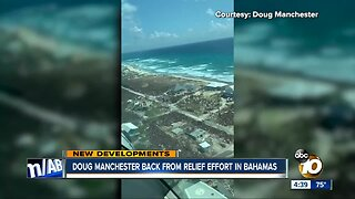 Doug Manchester back from relief effort in Bahamas