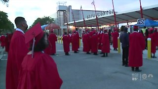 Palm Beach County seniors celebrating with in-person graduations Monday