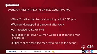 Kidnapping suspect shot, killed by Bates County authorities