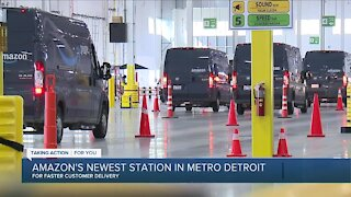 Inside Amazon's newest station in metro Detroit