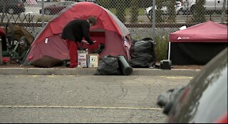 Police in Oceanside clear out much of a large homeless camp