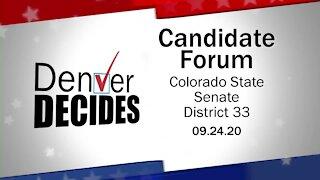 Denver Decides forum: Colorado State Senate District 33