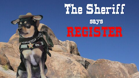 The Sheriff says Register !