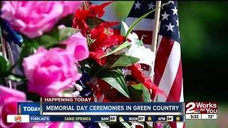 Memorial Day ceremonies across Green Country