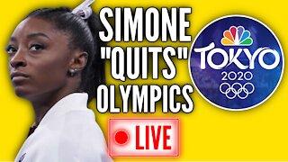 """Simone Biles """"Quits"""" Tokyo Olympics Events"""