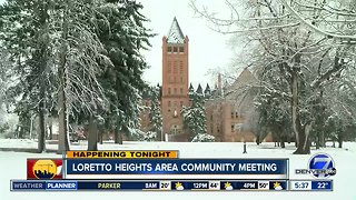 Loretto Heights area community meeting