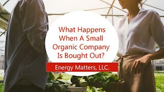 What Happens When A Small Organic Company Is Bought Out?