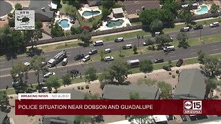 Carjacking suspect leads to crash in Mesa