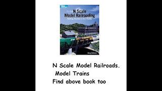 N Scale Model Railroads. Model Trains