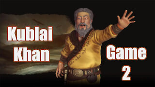 Civilization 6   Kublai Khan (Game 2)   Newest Edition to the Frontier Pass