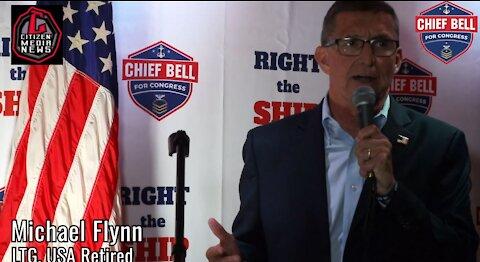 LTG Flynn (USA, Retired) Endorses Virginia Congressional Candidate Jarome Bell