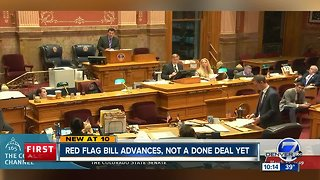 Colorado Senate advances 'red flag' gun bill
