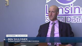 Lansing School District Superintendent Ben Shuldiner